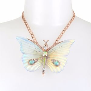 Betsey Johnson | Iridescent Butterfly Necklace